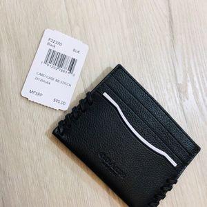 16eefe288fa2 Coach Bags - Coach F22370 Men s Slim Card Case Baseball Stitch
